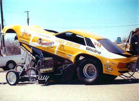 Gary Burgin's Supercharg'r Mustang